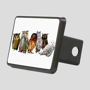 Owl Line Rectangular Hitch Cover