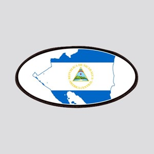 Nicaragua Flag and Map Patches