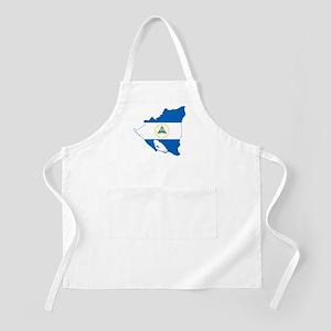 Nicaragua Flag and Map Apron