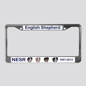 15th Anniversary License Plate Frame