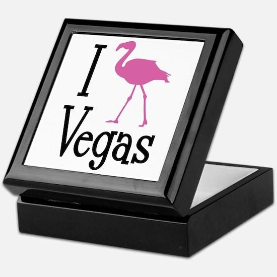 I Love Vegas Keepsake Box