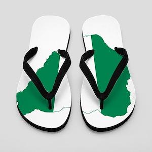 0e7ca5524d1b28 African Art Flip Flops - CafePress