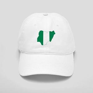 Nigeria Flag and Map Cap