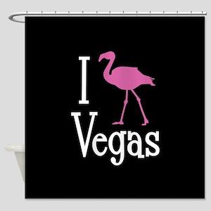 I Love Vegas Shower Curtain