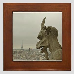 Paris No.2 Framed Tile