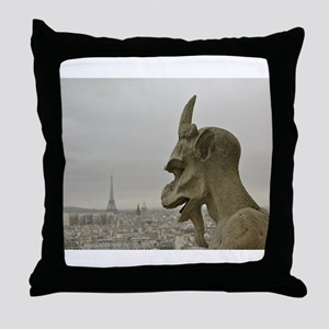 Paris No.2 Throw Pillow