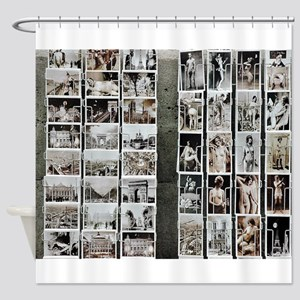 Paris No.3 Shower Curtain