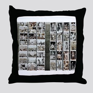 Paris No.3 Throw Pillow