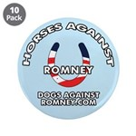 """10-Pack DAR """"Horses Against Romney"""" Butt"""
