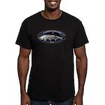 Men's Fitted Tarpon Fishing T-Shirt (dark)