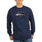 Long Sleeve Dark Tarpon Fishing T-Shirt