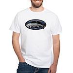 White Tarpon Fishing T-Shirt