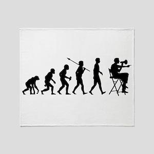 Movie Director Throw Blanket