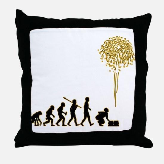 Pyrotechnician Throw Pillow