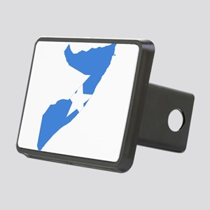 Somalia Flag and Map Rectangular Hitch Cover