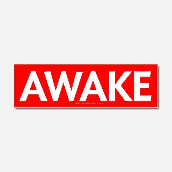 Awake Car Magnet 10 x 3