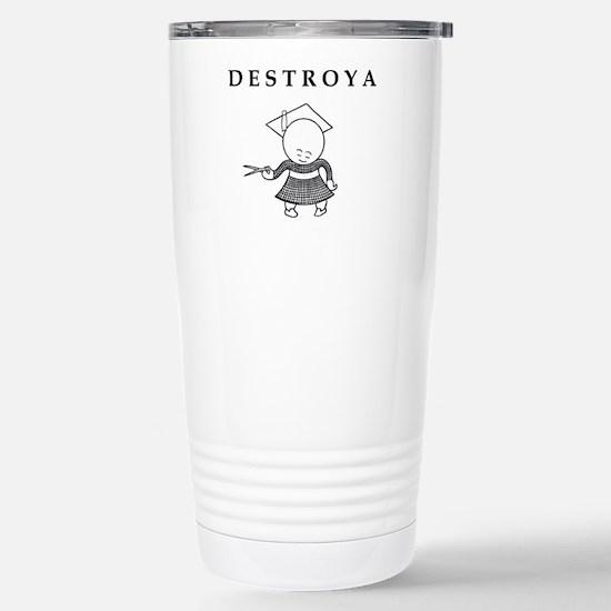 DESTROYA Stainless Steel Travel Mug