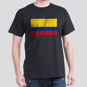 Flag of Colombia Dark T-Shirt