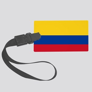 Flag of Colombia Large Luggage Tag