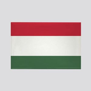 Flag of Hungary Rectangle Magnet