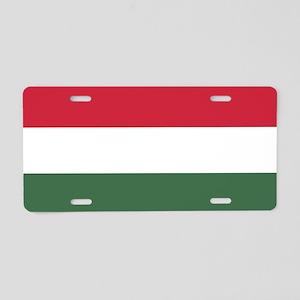 Flag of Hungary Aluminum License Plate