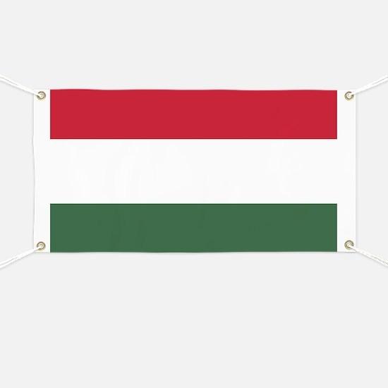 Flag of Hungary Banner