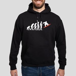 evolution snowboard Hoodie (dark)