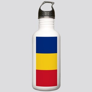 Flag of Romania Stainless Water Bottle 1.0L