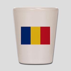 Flag of Romania Shot Glass