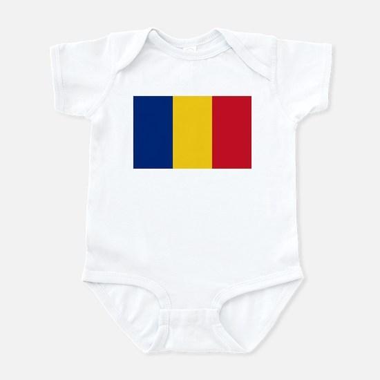 Flag of Romania Infant Bodysuit