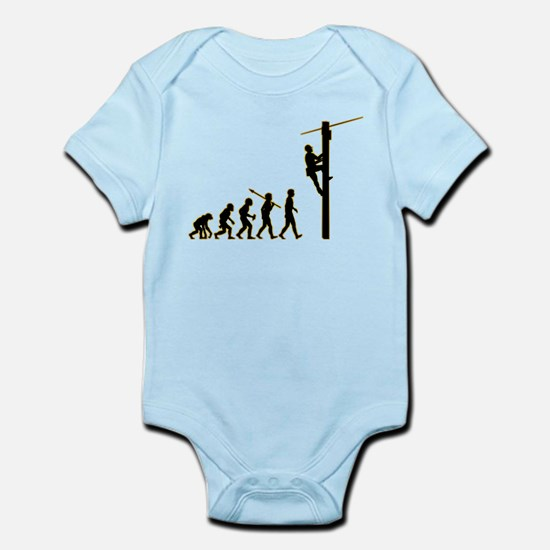 Telephone Technician Infant Bodysuit