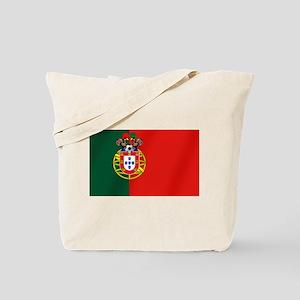 Portugal Football Flag Tote Bag