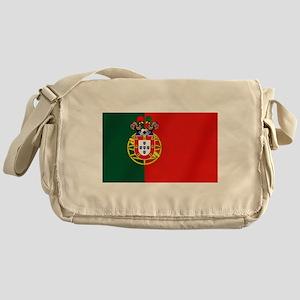 Portugal Football Flag Messenger Bag