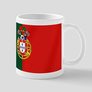 Portugal Football Flag 11 oz Ceramic Mug