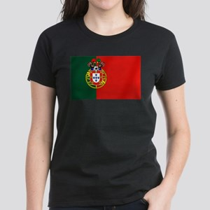 Portugal Football Flag Women's Classic T-Shirt