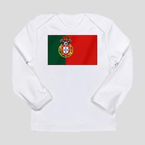 Portugal Football Flag Long Sleeve Infant T-Shirt