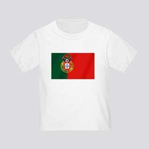Portugal Football Flag Toddler T-Shirt