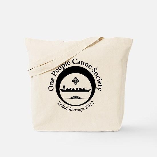 One People Canoe Society Tribal Journeys 2012 Tote