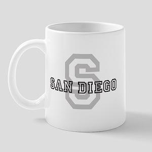 San Diego (Big Letter) Mug