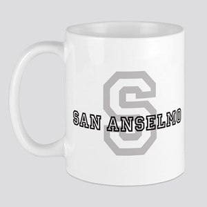 San Anselmo (Big Letter) Mug