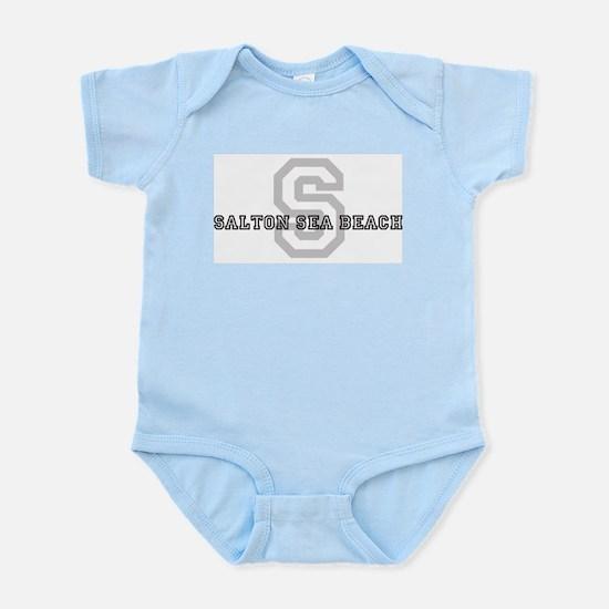 Salton Sea Beach (Big Letter) Infant Creeper