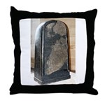 Moabite Stone (Mesha Stele) Throw Pillow