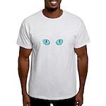 Blue Cat Eyes Light T-Shirt