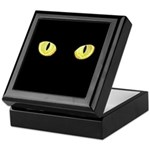 Amber Cat Eyes Keepsake Box