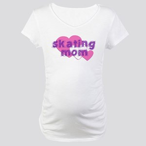 Skating Mom 3 Maternity T-Shirt