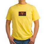 Aboriginal Moabite Nation Flag Yellow T-Shirt