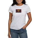Aboriginal Moabite Nation Flag Women's T-Shirt