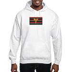 Aboriginal Moabite Nation Flag Hooded Sweatshirt