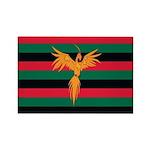 Aboriginal Moabite Nation Flag Rectangle Magnet (1