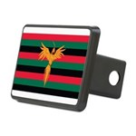 Aboriginal Moabite Nation Flag Rectangular Hitch C